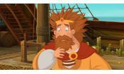 Скриншот к фильму «Три богатыря и Морской царь»